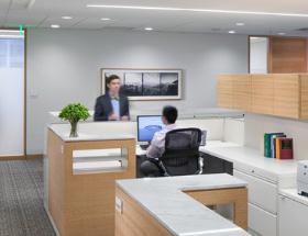 公司办公室环境一角