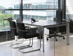 公司会议室环境一角